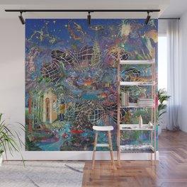 Azure Wall Mural