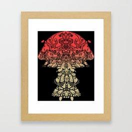 Mushboom I Framed Art Print