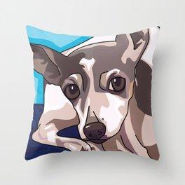 Jasmine Dog Throw Pillow