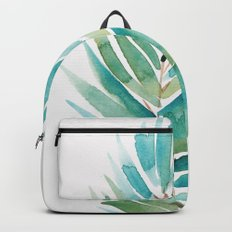 Palm leaf Backpacks