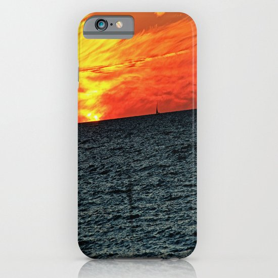 fire in the sky iPhone & iPod Case