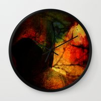 dragon age inquisition Wall Clocks featuring Inquisition by Ganech joe