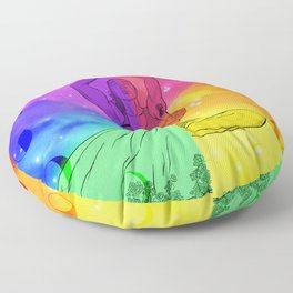 There Are Levels To Expressing This Sexuality Floor Pillow