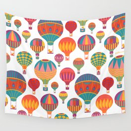 Air Balloons Wall Tapestry