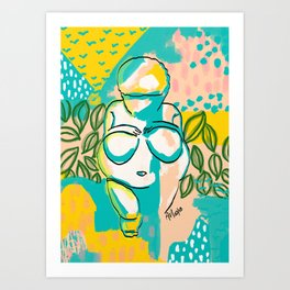 Willendorf Beach Art Print