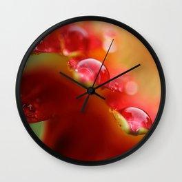 Summer Jewels Wall Clock