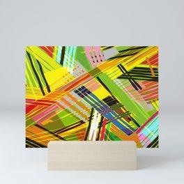 SCRAMBLED COLORS Mini Art Print
