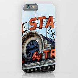 Union Station - Travel by Train iPhone Case