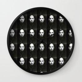 laveypattern Wall Clock