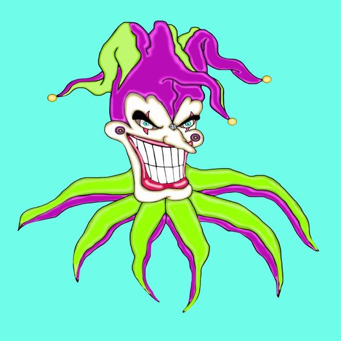 Jester Clown Duvet Cover