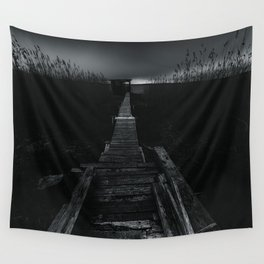 On the wrong side of the lake 2 Wall Tapestry