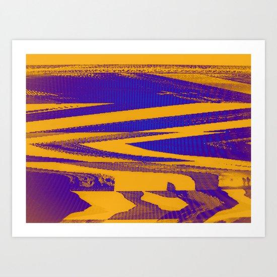 Digital Died/Mustard Jam Art Print