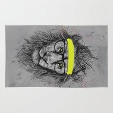 hipster lion Rug