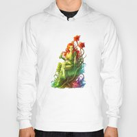 poison ivy Hoodies featuring Poison Ivy by aken