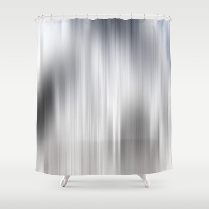 Color Streaks No 8 Shower Curtain