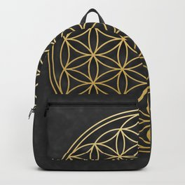 The Flower of Life Backpack