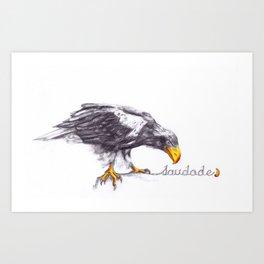 Saudade.2 Art Print