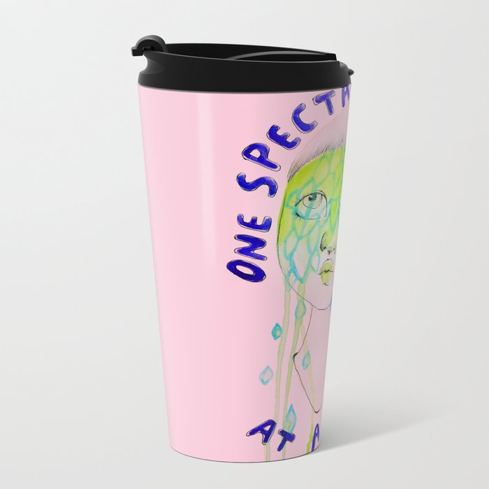 One spectacular meltdown at a time Metal Travel Mug