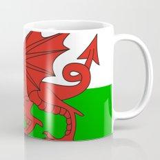 wales country flag united kingdom  Mug