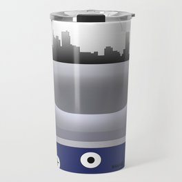 Logan - BOS - Airport Code & Skyline Travel Mug