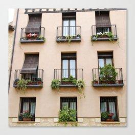 Window to Segovia Canvas Print