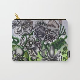 The Bipatisan Pansy Seed Packet Carry-All Pouch