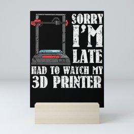 3D Printer 3d Print Nerd 3d Tool Software Mini Art Print