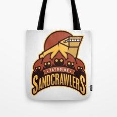 Tatooine SandCrawlers Tote Bag