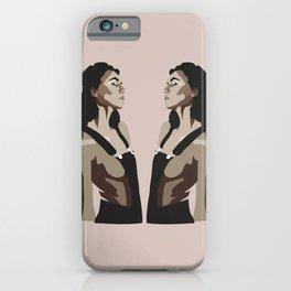 Mountain Woman iPhone Case