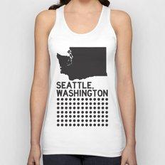 SEATTLE WASHINGTON Unisex Tank Top