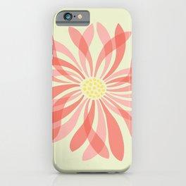 Sheer Petal Flower iPhone Case