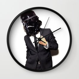 Corporate Shadowtrooper 3 Wall Clock