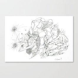 Variable Exchange - Cause nothings constant Canvas Print