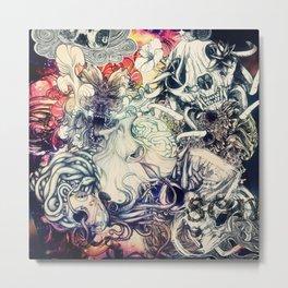Second Mix Metal Print