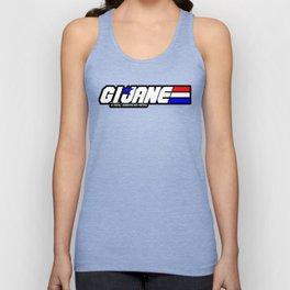G.I. Jane Unisex Tank Top