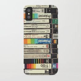 VHS Stack iPhone Case