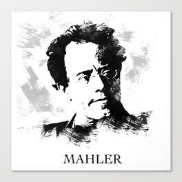 Gustav Mahler Canvas Print