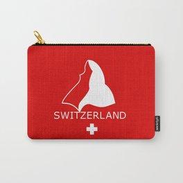 Switzerland and Matterhorn Carry-All Pouch