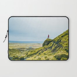 He Found the River's Valley (Color) Laptop Sleeve
