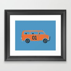 The General Van Framed Art Print