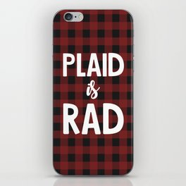 Plaid is Rad iPhone Skin