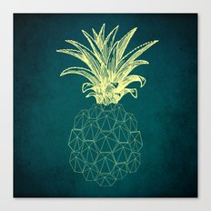y-hello pineapple Canvas Print