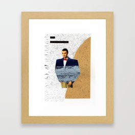 Well, How Did I Get Here? Framed Art Print