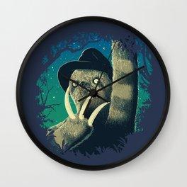 Sloth Freddy Wall Clock
