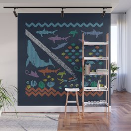 Scuba diving – Knitted ecosystem Wall Mural