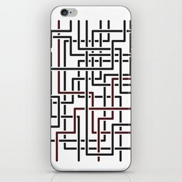 Obliquity 4 iPhone Skin