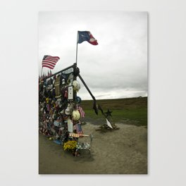 Early Flight 93 Memorial Canvas Print