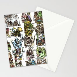 The Lost City of Forgotten Gods Stationery Cards
