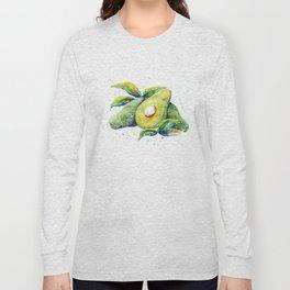 Avocados - Watercolor Long Sleeve T-shirt
