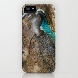rusted drip iPhone Case